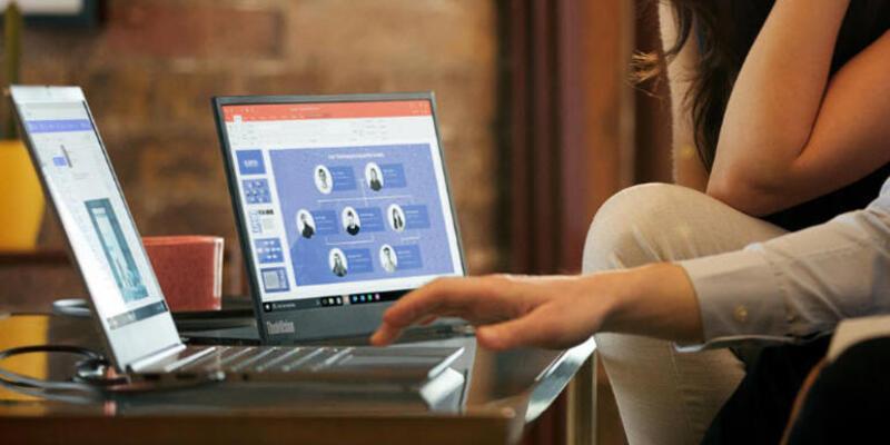 Lenovo ThinkBook 13s, uyku modunda müzik çalıyor