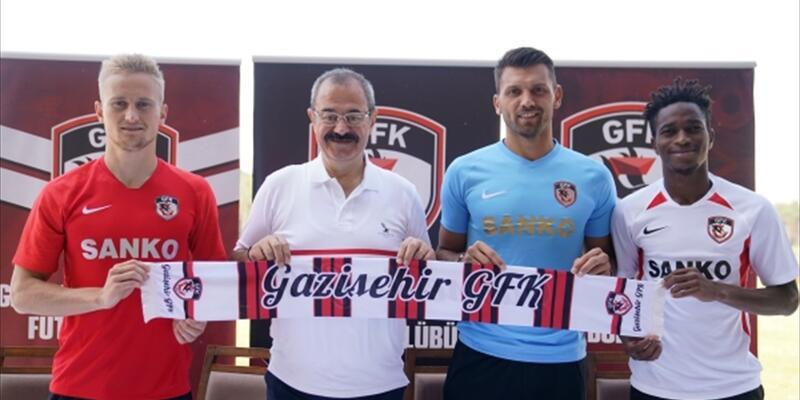 Gazişehir Gaziantep'ten 3 transfer