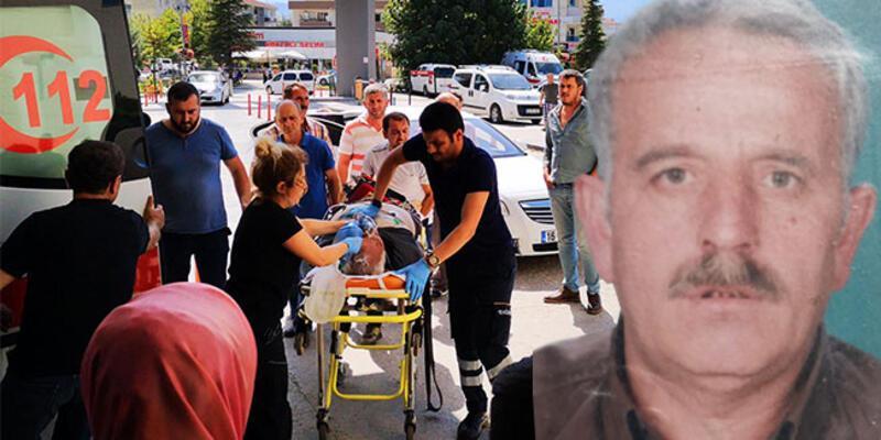 Arkadaşının cenazesinde fenalaştı, hastanede öldü