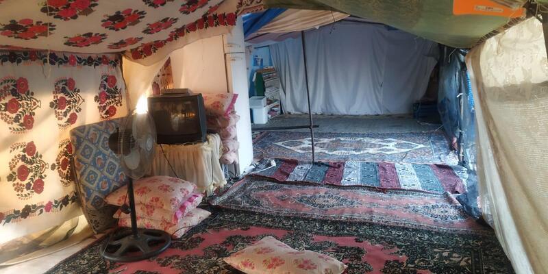 2,5 yaşındaki kız çocuğu çadırda ölü bulundu