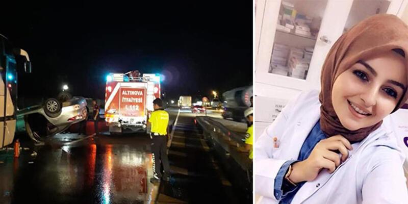 Genç hemşire trafik kazasında can verdi