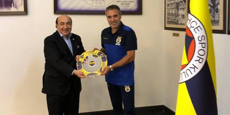 Fenerbahçe Üniversitesi'nden Ersun Yanal'a ziyaret