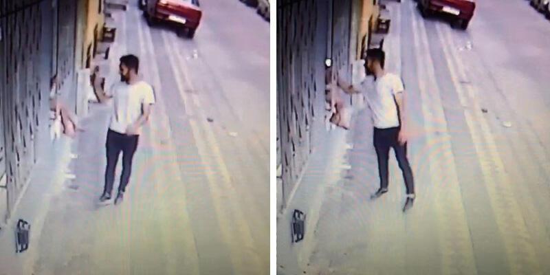 Çocuğun elindeki telefonu çalan şüpheli polise teslim oldu