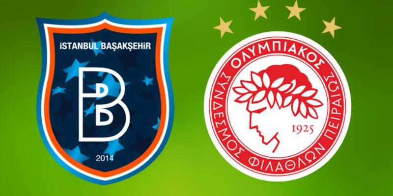 Başakşehir Olympiakos Şampiyonlar Ligi canlı yayın hangi kanalda?