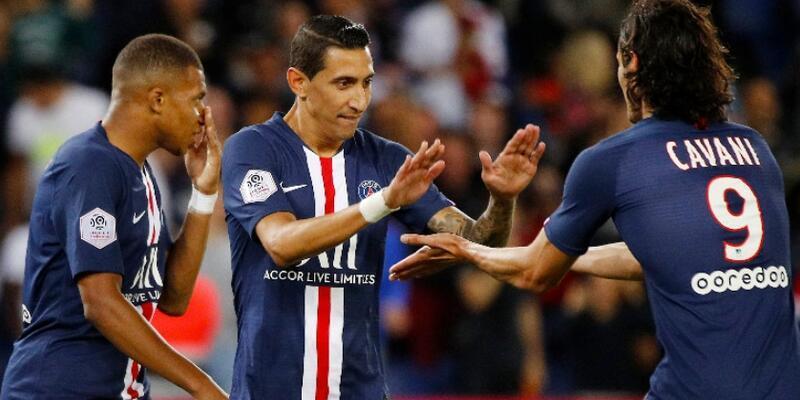 PSG 3 golle lige başladı