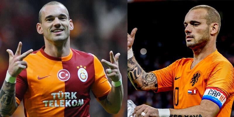 Wesley Sneijder futbolu bıraktı