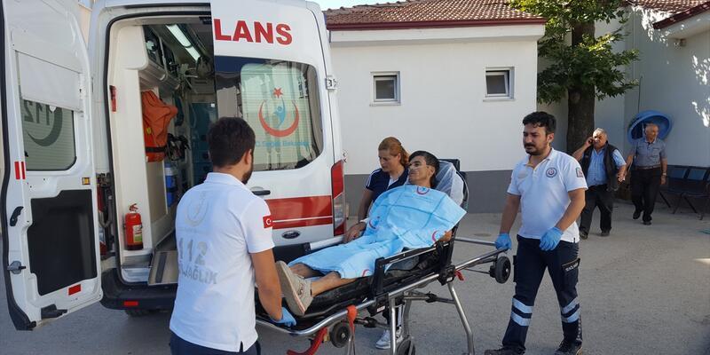 Eniştesini bıçaklayan genç gözaltına alındı