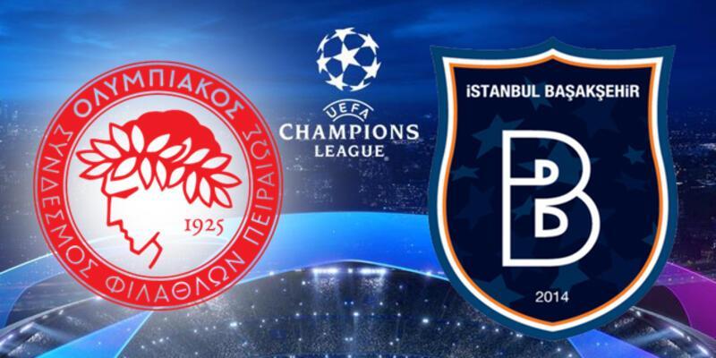 Olympiakos, Başakşehir Şampiyonlar Ligi maçı ne zaman, saat kaçta, hangi kanalda?