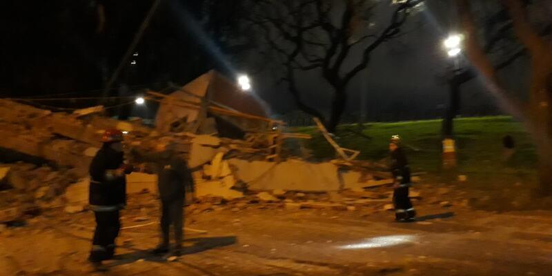 Arjantin'de inşa halindeki 8 katlı bina çöktü