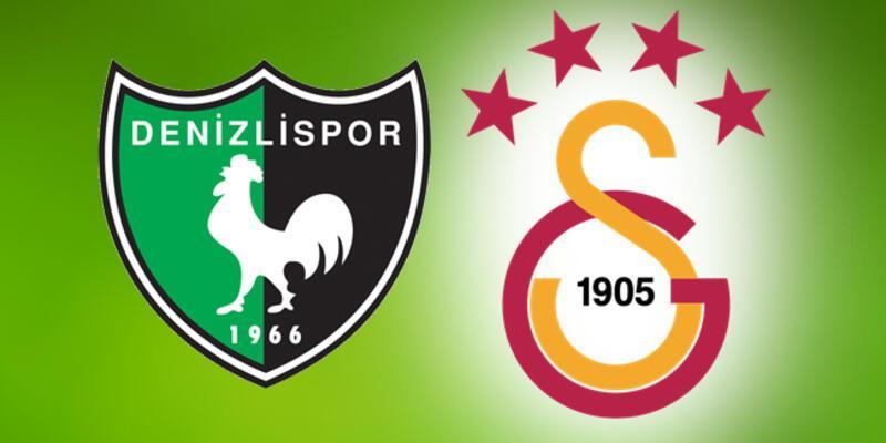 Denizlispor Galatasaray maçı ne zaman, saat kaçta, hangi kanalda?