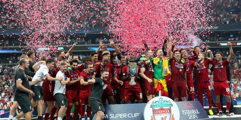 Liverpool'dan tarihi Süper Kupa başarısı