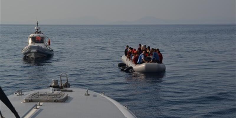 İzmir'de 106 düzensiz göçmen yakalandı