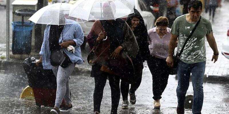 Son dakika... Dikkat! Meteoroloji'den yine kuvvetli yağış uyarısı