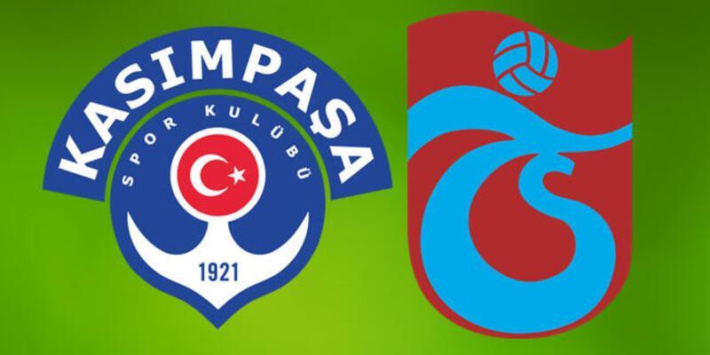 Kasımpaşa Trabzonspor maçı hakkında bilgiler: Saat kaçta, hangi kanalda?