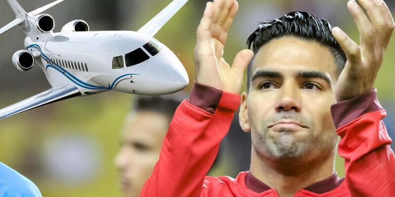 Falcao özel jetle İstanbul'a geliyor