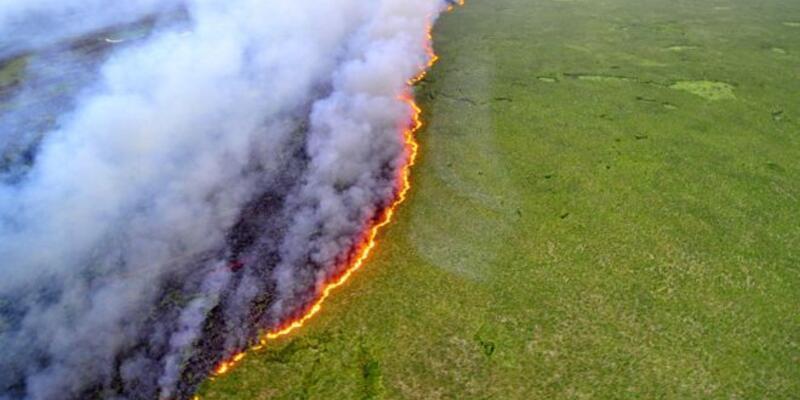 Brezilya Devlet Başkanı Bolsonaro: Yangınları çevreciler çıkarıyor olabilir