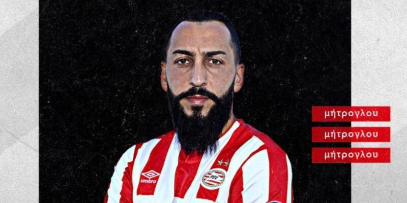 Kostas Mitroglou PSV'ye imzayı attı