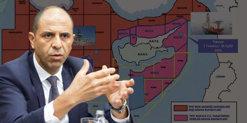 Doğu Akdeniz'deki kaynaklar için şirket formülü
