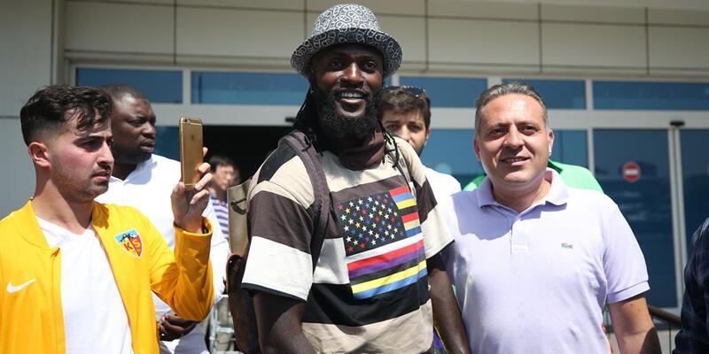 Adebayor Kayserispor'da