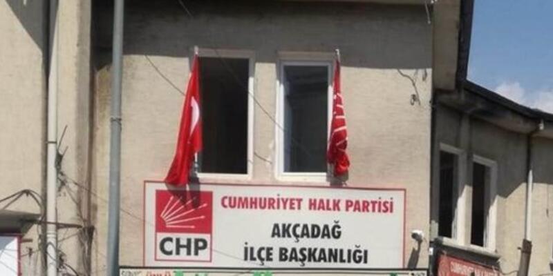 CHP Akçadağ İlçe Başkanlığı'na saldıran şüpheli yakalandı