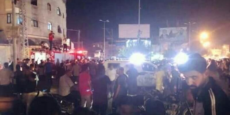 Gazze'deki patlamalar: 2 ölü