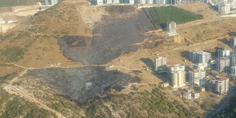 İzmir'de orman yakanlar kameraya yakalandı