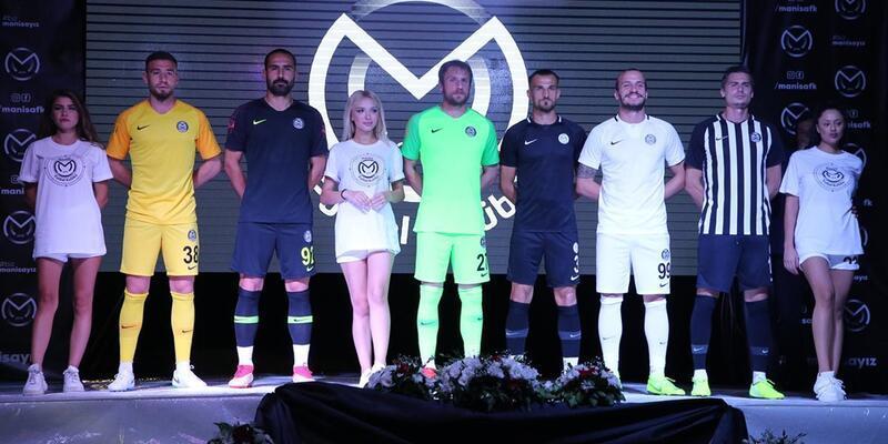 Manisa Futbol Kulübü'nün yeni logosu ve formaları tanıtıldı