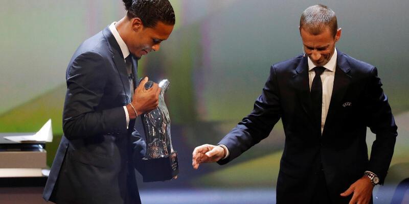 Virgil van Dijk yılın futbolcusu seçildi