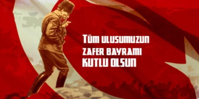 BÜYÜK ZAFER! Bayrak ve Atatürk resimli 30 Ağustos mesajları CNN TÜRK'te