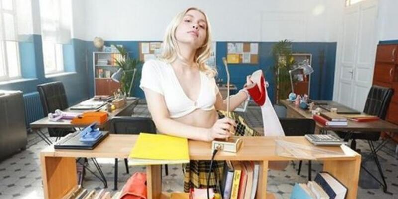 Aleyna Tilki'nin okul paylaşımı tepki topladı