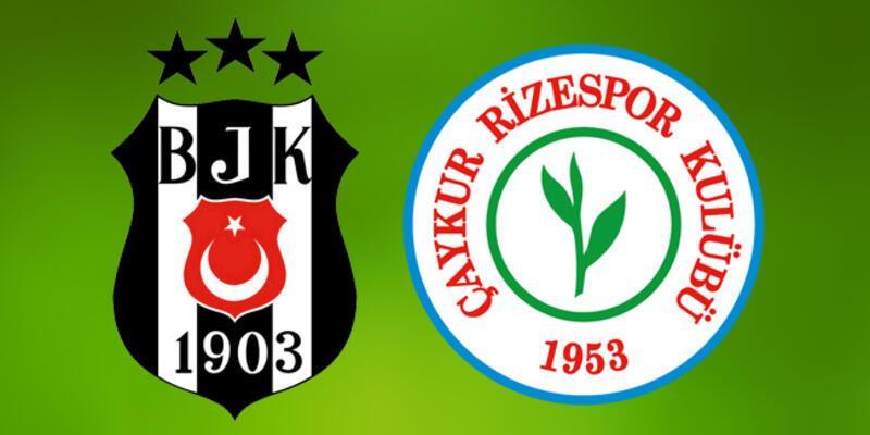 Beşiktaş Çaykur Rizespor maçı ne zaman, saat kaçta, hangi kanalda?