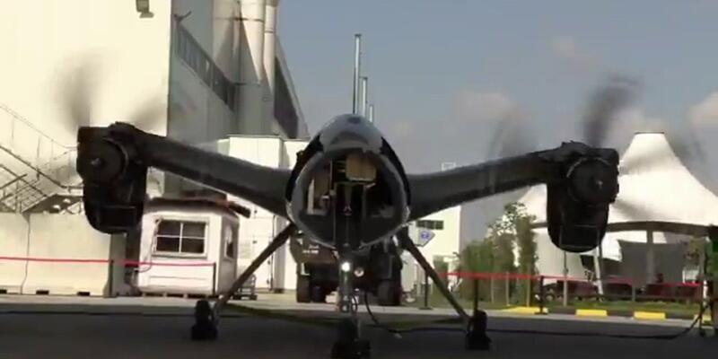 Akıncı Taarruzi İnsansız Hava Aracı'nın test işlemi bitti