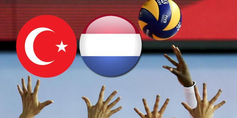 Türkiye Hollanda voleybol maçı ne zaman, saat kaçta, hangi kanalda?