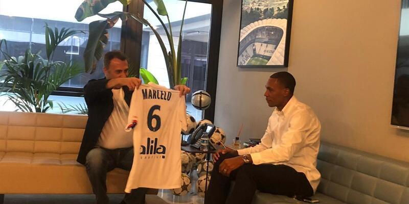 Marcelo'dan Fikret Orman'a ziyaret