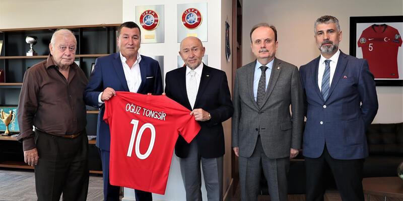 TSYD'den TFF Başkanı Nihat Özdemir'e ziyaret