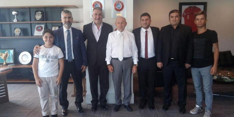 TFF Başkanı Nihat Özdemir Zonguldak Ereğlispor'u ağırladı