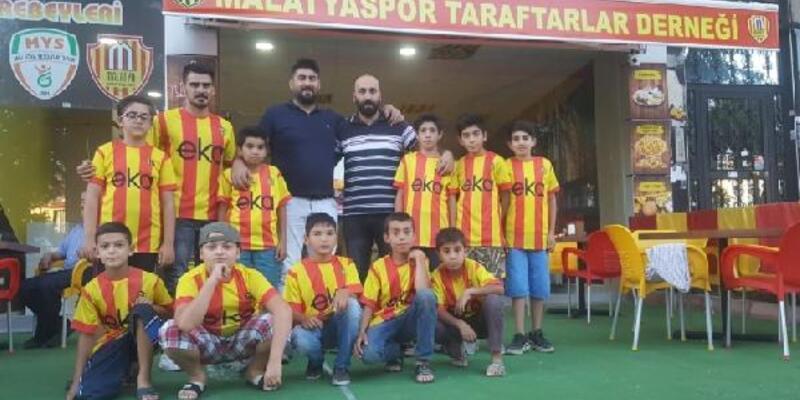 Malatyaspor taraftarlarından 'Baba beni maça götür' projesi