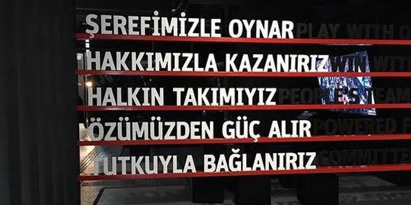 Beşiktaş'tan Galatasaray'a bir gönderme daha