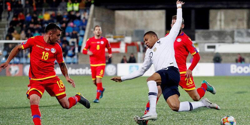 Andorra elemelerde bugüne kadar oynadığı 54 maçı da kaybetti