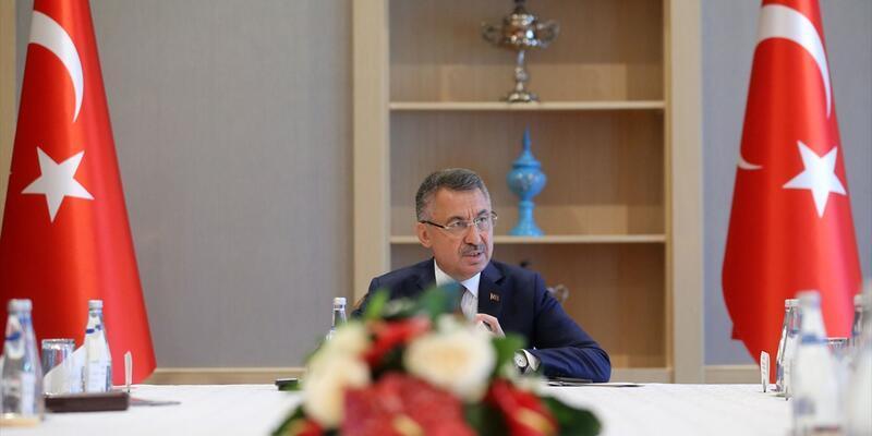 Son dakika! Fuat Oktay başkanlığında Suriye Koordinasyon toplantısı
