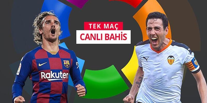 Barcelona-Valencia maçına misli.com'da canlı oyna!