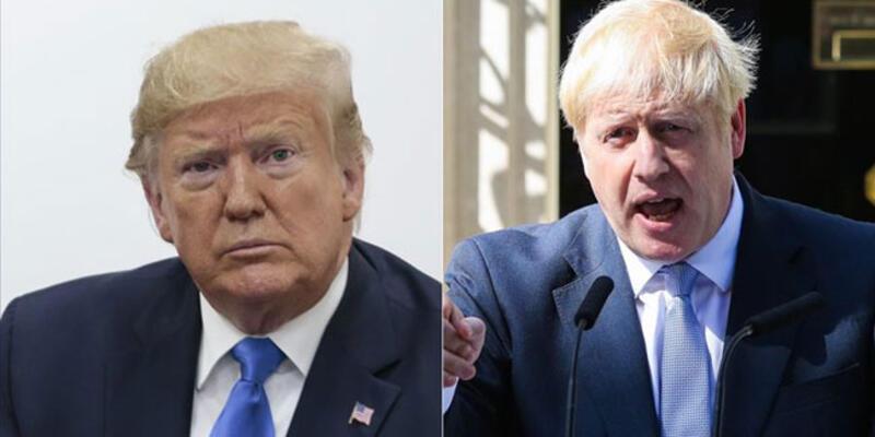 Johnson ve Trump telefonda görüştü
