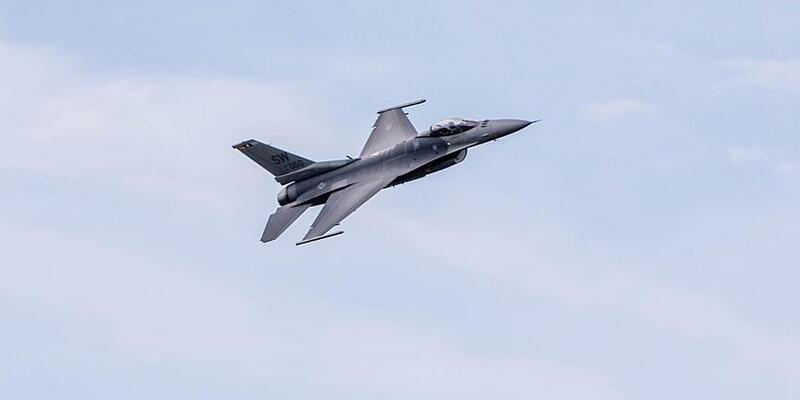 Son dakika... Belçika Hava Kuvvetleri'ne ait F-16 düştü
