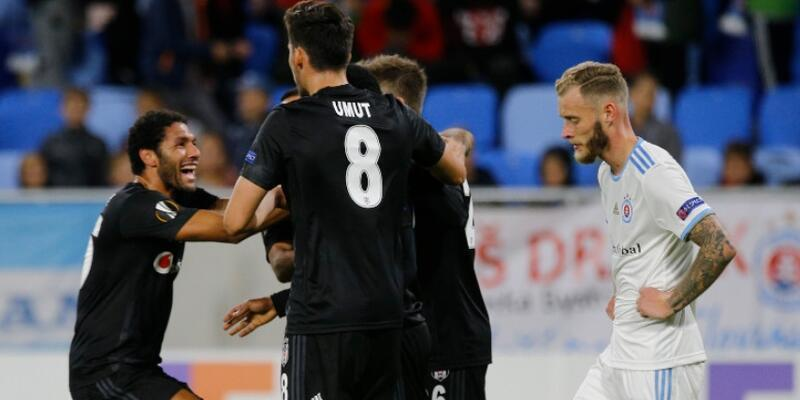 Slovan Bratislava 4-2 Beşiktaş MAÇ ÖZETİ