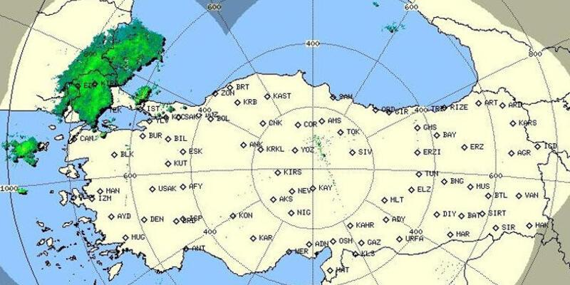 İstanbul için önemli uyarı... Meteoroloji radar görüntüsünü paylaştı