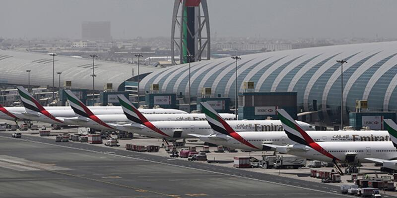 Dubai'de panik! Havalimanı kapatıldı