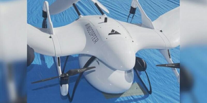 Drone'lar ilk defa sağlık çalışmalarında kullanıldı