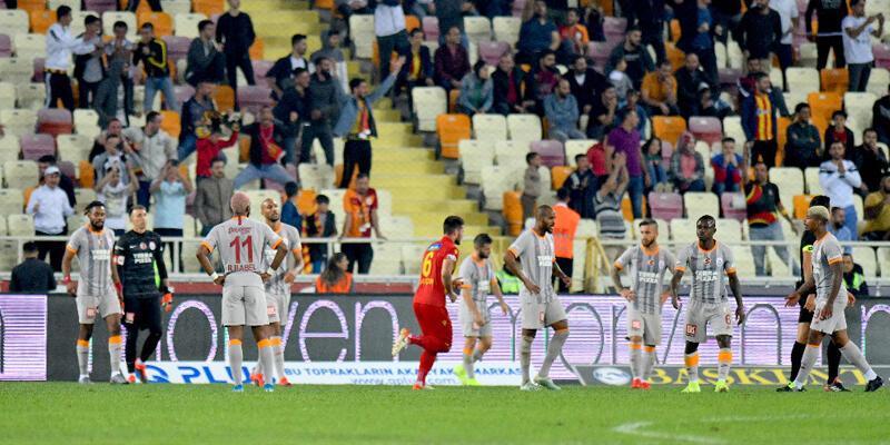 Galatasaray'da acı tablo! 30 puan kayıp