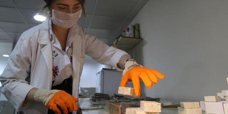 Şanlıurfa isotundan sabun ürettiler
