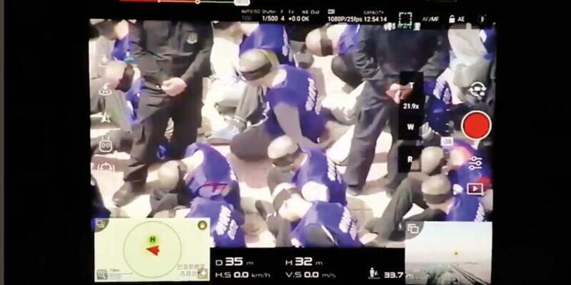 Görüntülerdeki tutuklular Uygur Türkleri mi?